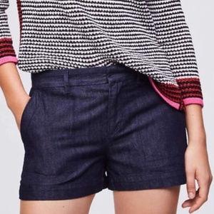 LOFT 'Riviera' Denim Trouser Short